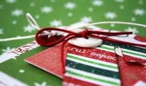 Новогодние открытки ценнее, когда сделаны вручную