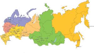 Карта ОКАТО