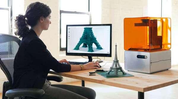 Домашний недорогой 3D-принтер FORM1